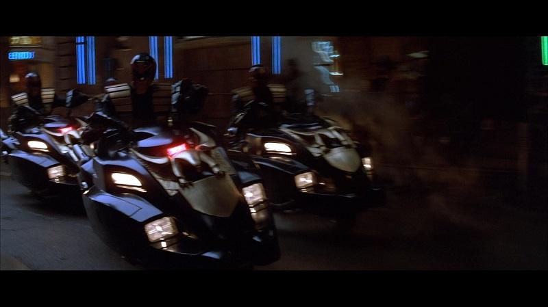 Judge Dredd Motorcycle Lawmaster 7