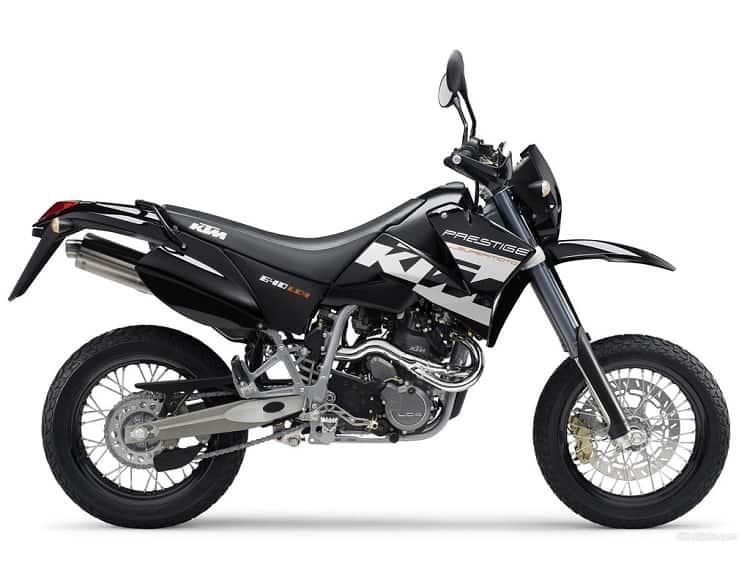 KTM 640 LC4 - Best Supermoto Bikes 2
