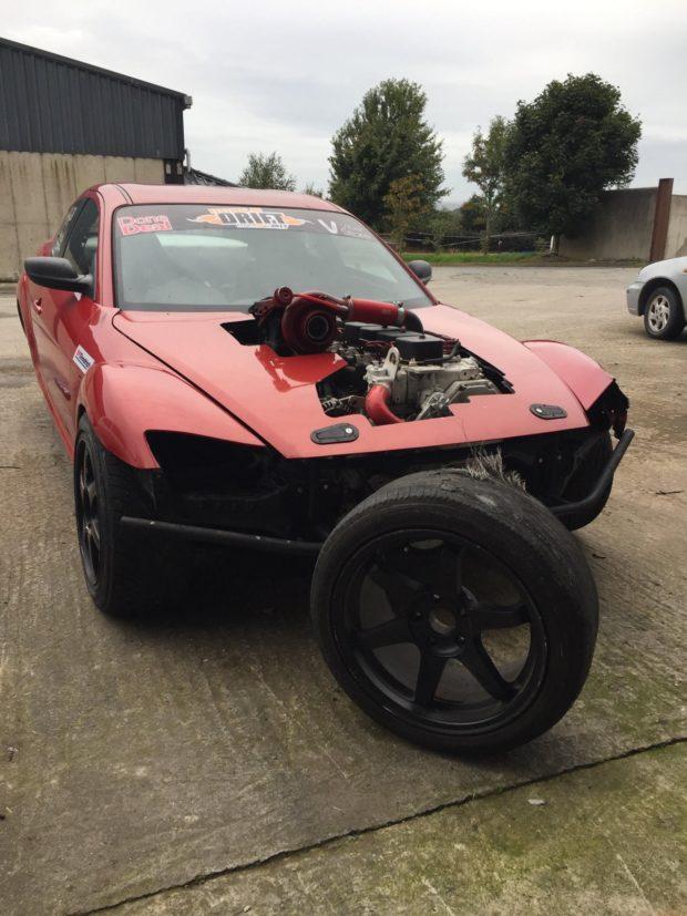 Mazda RX8 motor swap