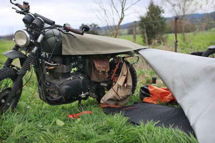 Motorcycle Camping Gear - Stay Exposed Bivouac 3