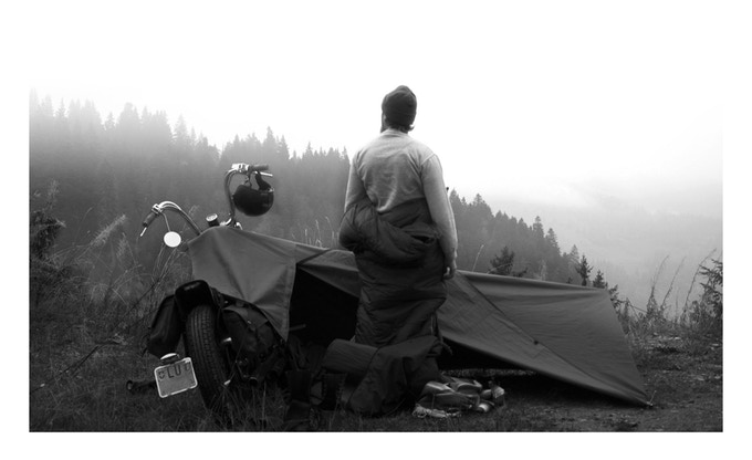 Motorcycle Camping Gear - Stay Exposed Bivouac 4