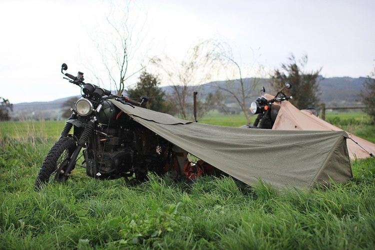 Motorcycle Camping Gear - Stay Exposed Bivouac