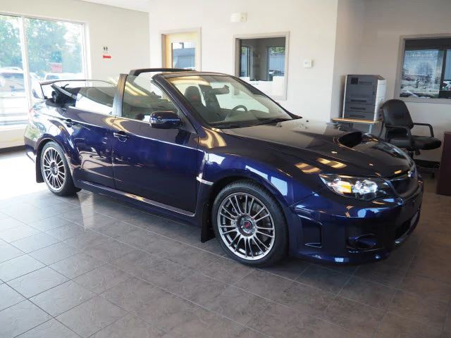 Subaru Impreza WRX STI Convertible front