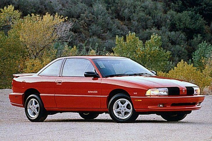 Classic Oldsmobile - 1992-1993 Achieva SCX W41