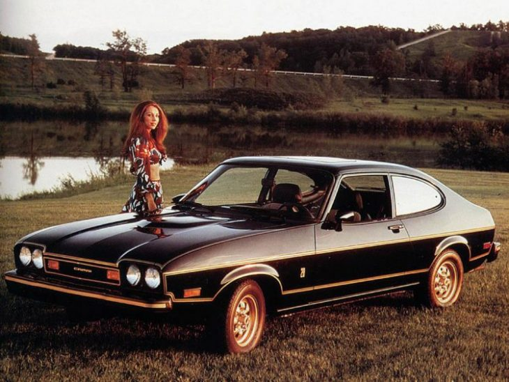 Forgotten Classic Mercury Cars - 1976 Capri Black Cat