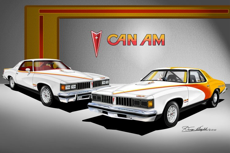 Obscure Pontiac Models - 1977 Can Am Poster