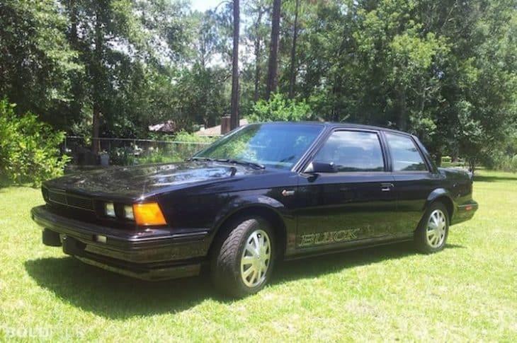 Old Buick Models - 1986 Century Gran Sport