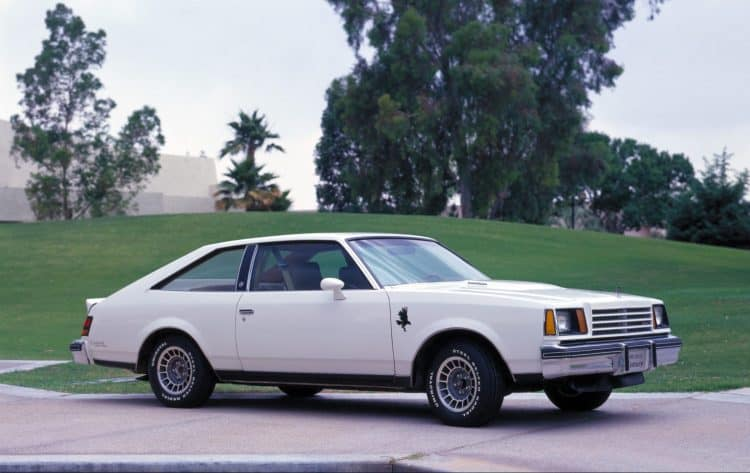 Old Buick Models - 1979-1980 Century Turbo Coupe