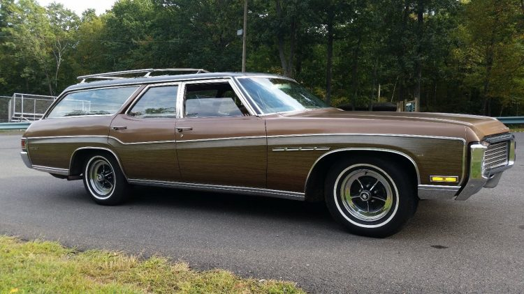 Old Buick Models - 1970 Estate Wagon
