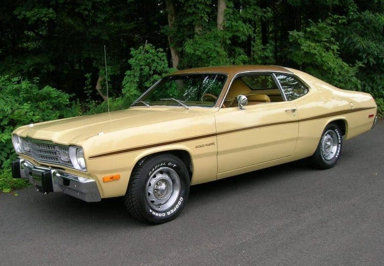 Plymouth Classic Cars - Plymouth Gold Duster