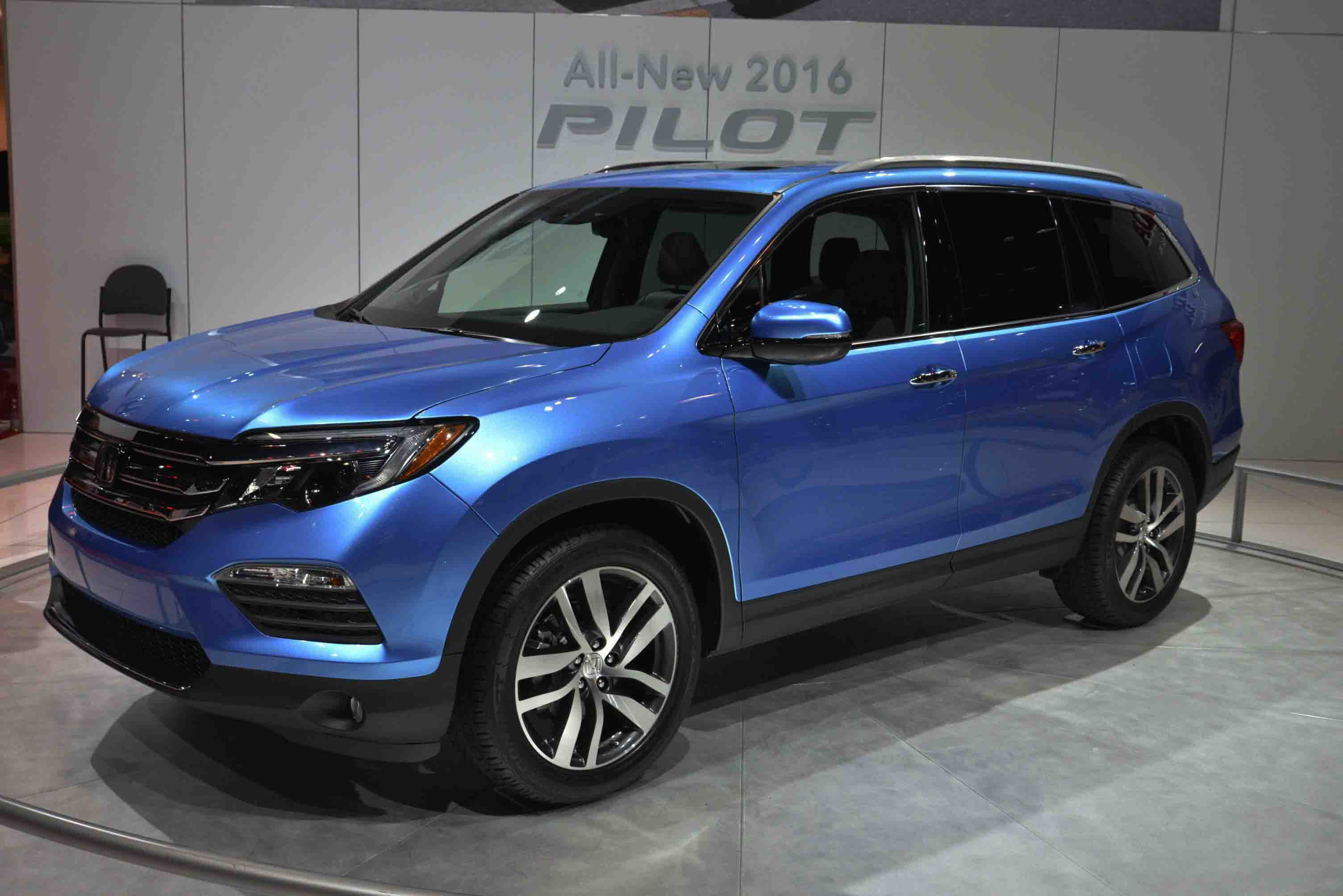 The Honda Pilot Is A Great 8 Penger Vehicle