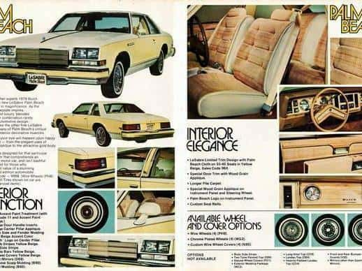 Old Buick Models - 1979 LeSabre Palm Beach Advertisement