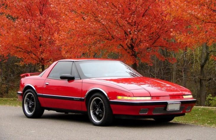 Old Buick Models - 1988-1991 Reatta