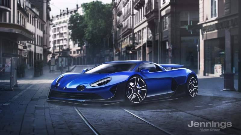 Renault supercar