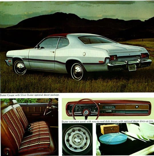 Plymouth Classic Cars - Plymouth Silver Duster Ad