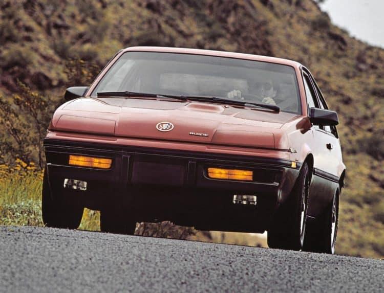 Old Buick Models - 1984-1987 Skyhawk T-Type