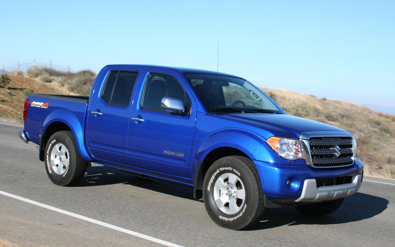 Our list of best little trucks includes the Suzuki Equator RMZ 4
