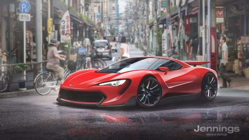Toyota supercar