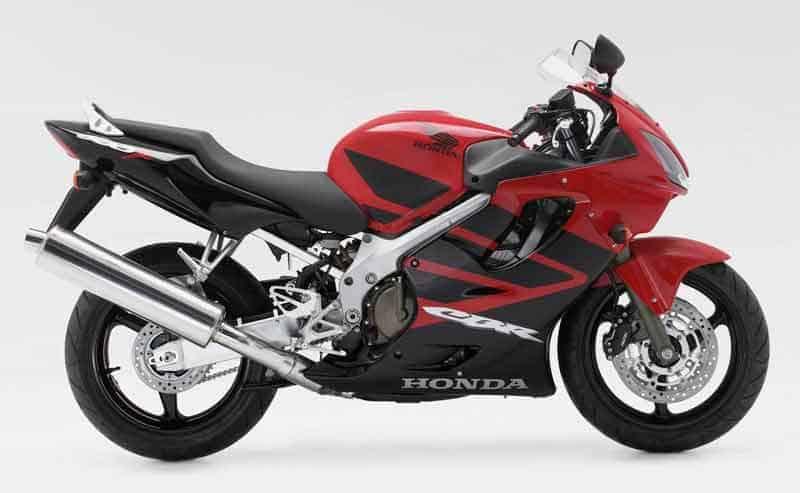 08. Honda CBR600F - Best 600cc Motorcycle