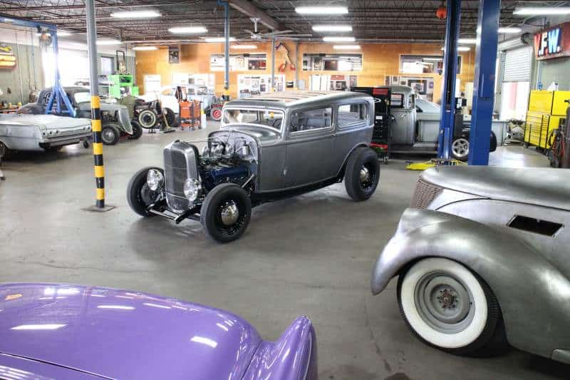 1932 Ford tudor Sedan in Austin Speed Shop