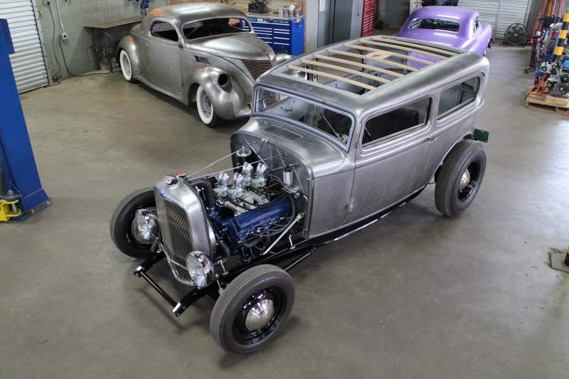 1932 Ford tudor Sedan Fron 3/4