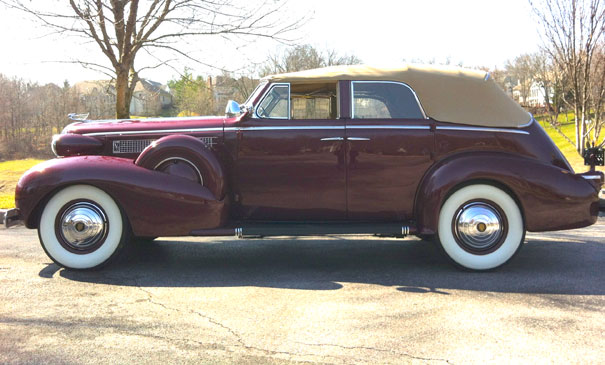 The 1937 Cadillac Series 60 is a great Cadillac convertible.