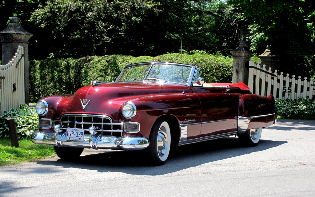 The 1948 Cadillac Series 62 is a great Cadillac convertible.