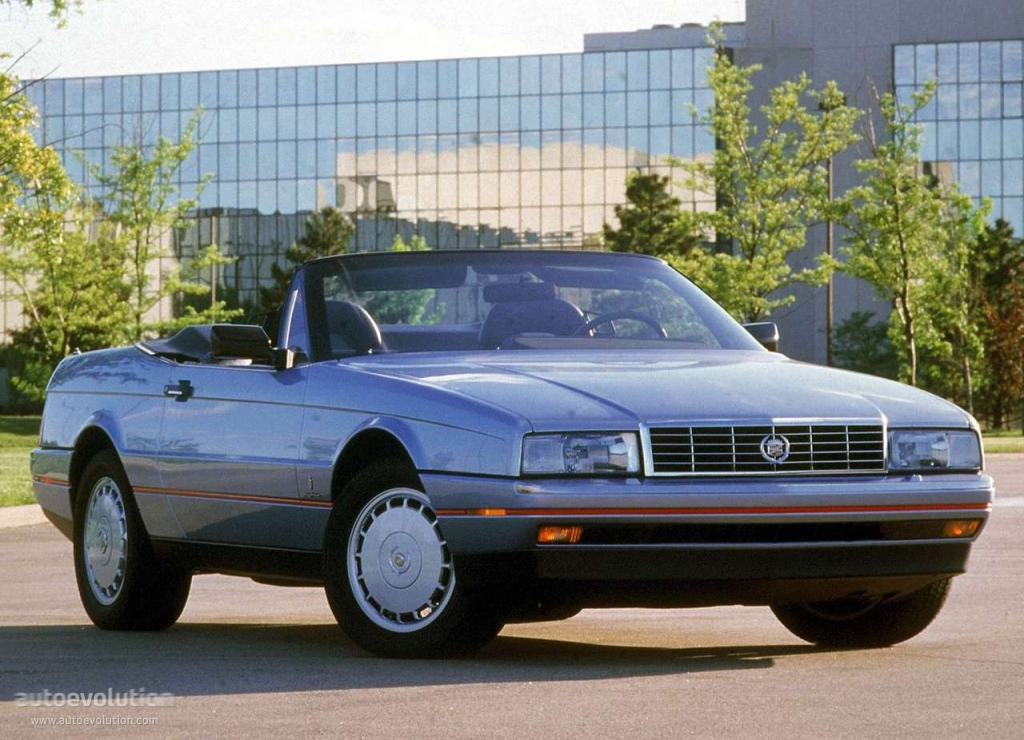 The 1987 Cadillac Allante is a great Cadillac convertible.