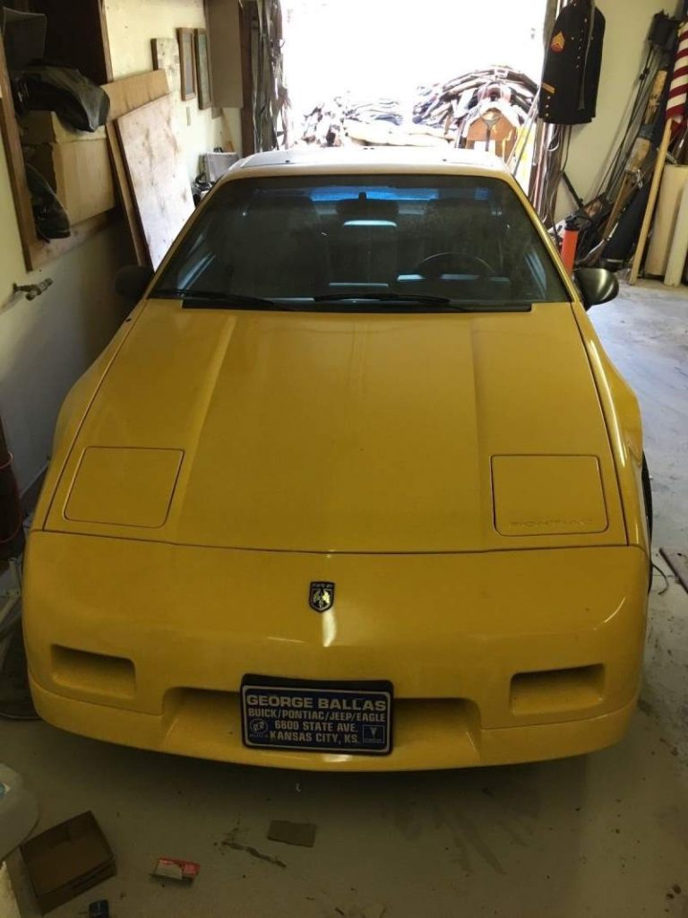 1988 Pontiac Fiero Hood