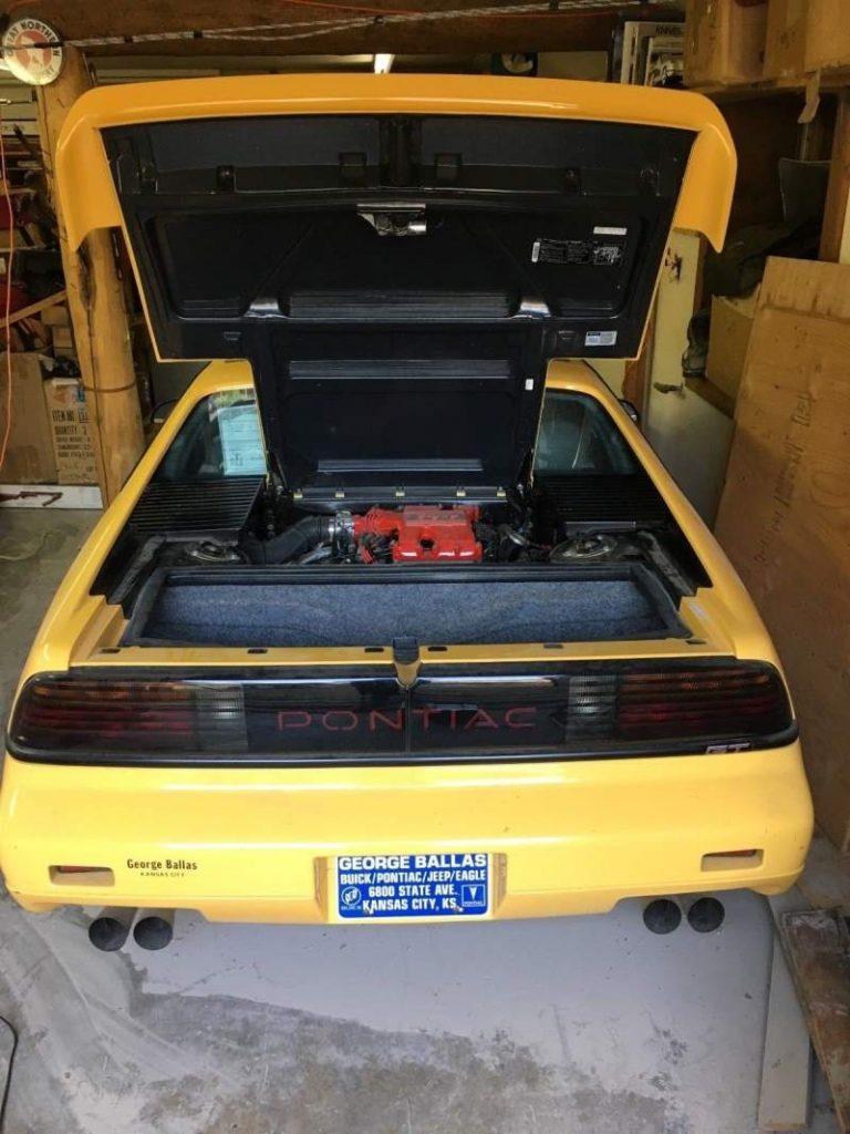 1988 Pontiac Fiero Rear/Engine Bay