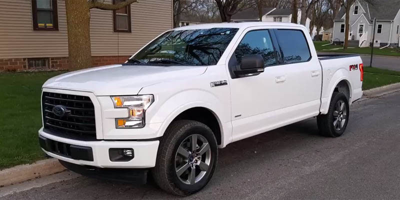 2017 Ford F 150 Xlt 4x4 Front 3 4