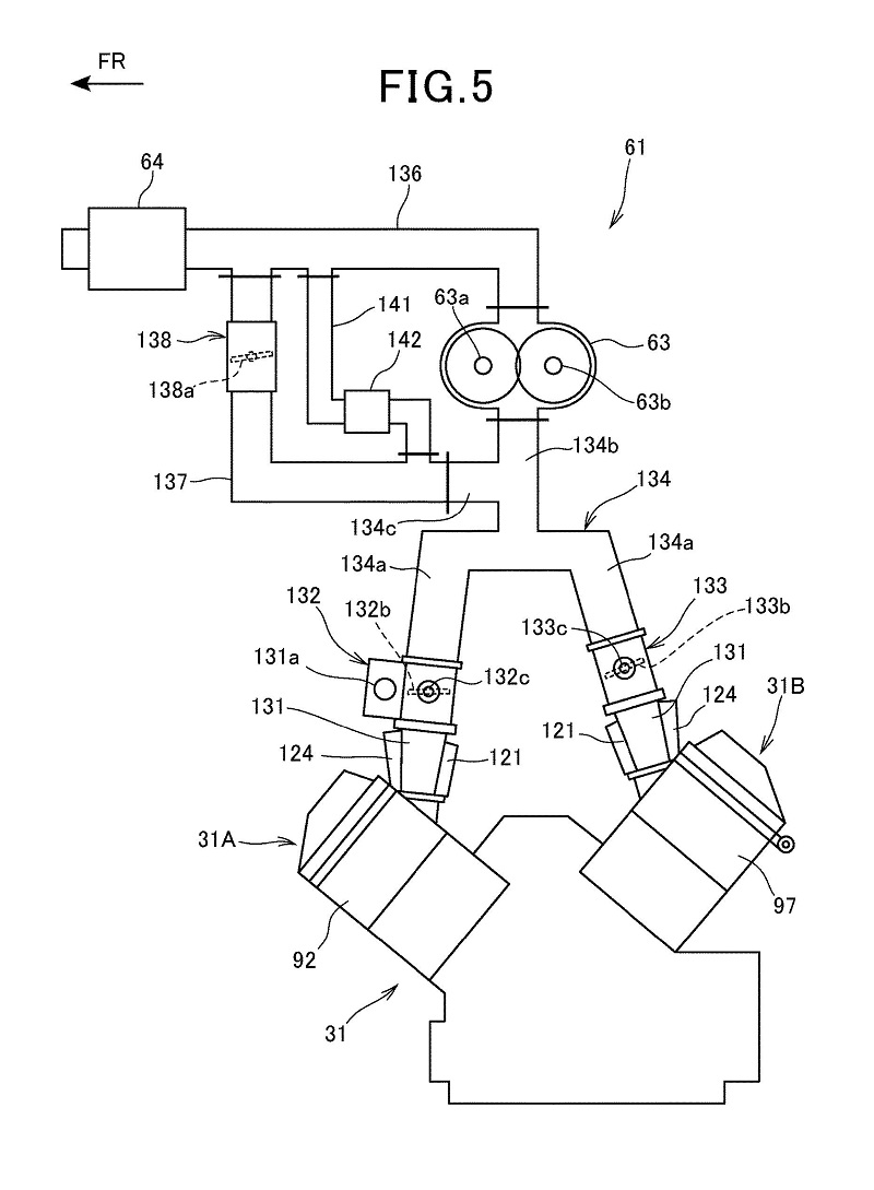 Honda Supercharged V-Twin Patent 6