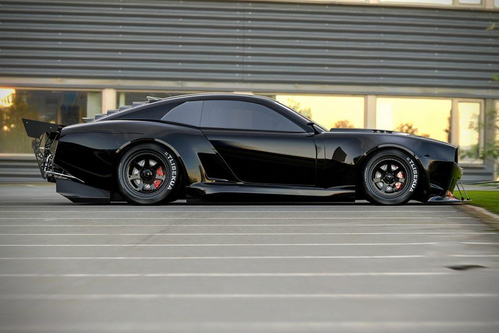 Pontiac Firebird TT Concept Profile