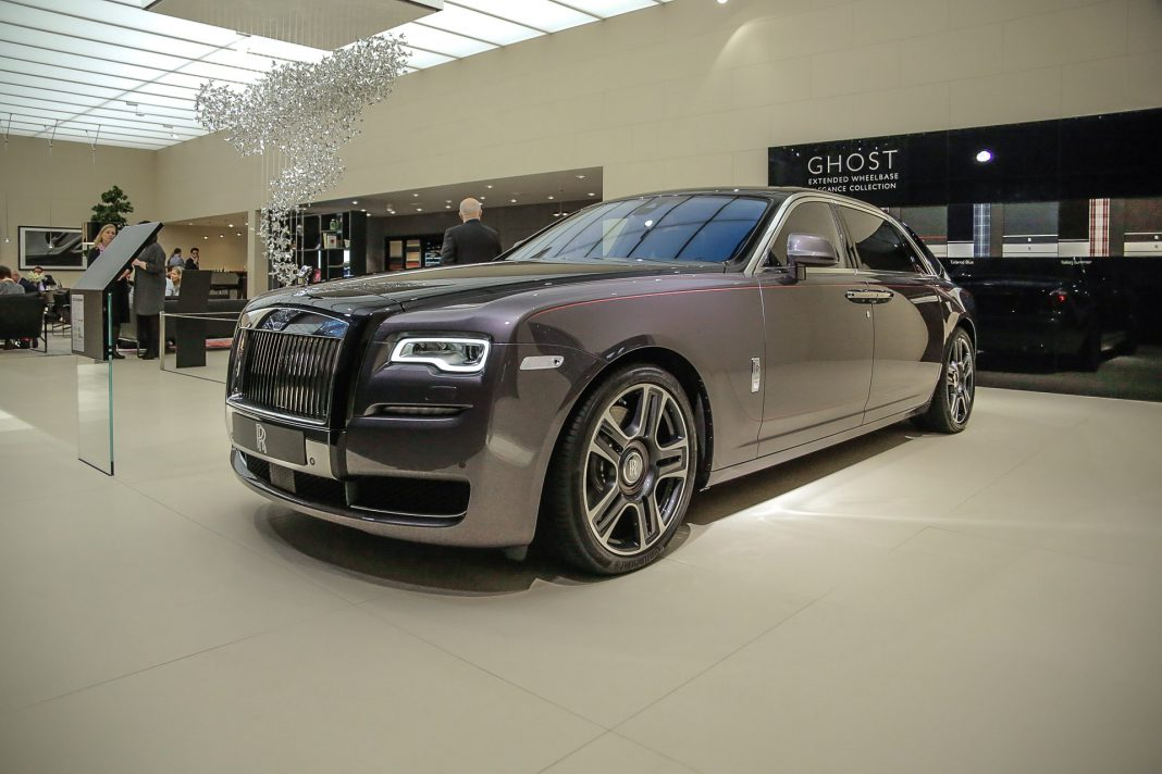 Our list of exotic cars includes the Rolls Royce Ghost