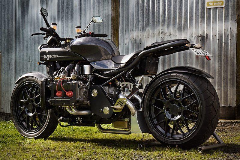 Turbocharged Subaru Motorcycle 4