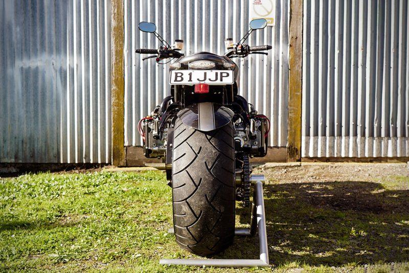 Turbocharged Subaru Motorcycle 5
