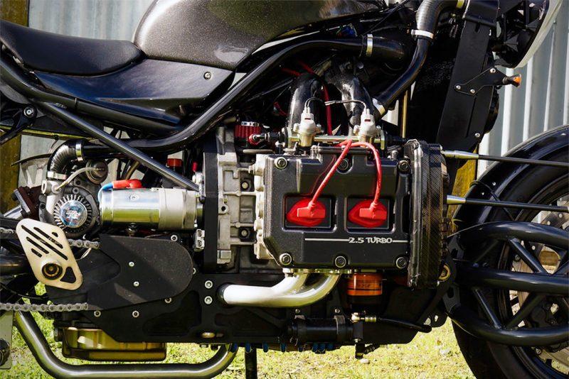 Turbocharged Subaru Motorcycle 6