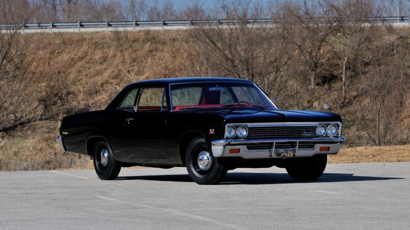 Unusual Muscle Cars - 1966 Chevrolet Biscayne L72