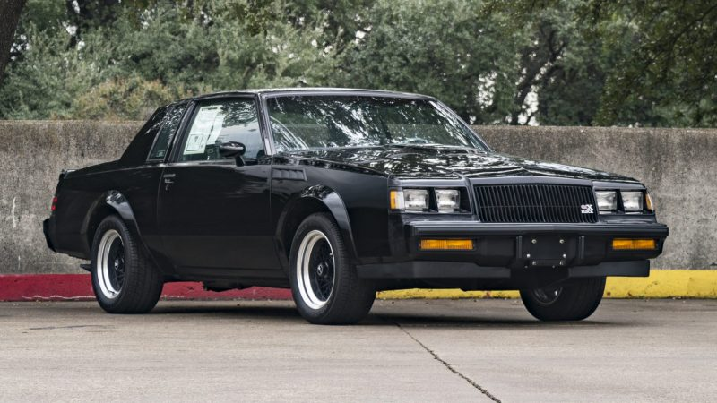 Unusual Muscle Cars - 1987 Buick GNX