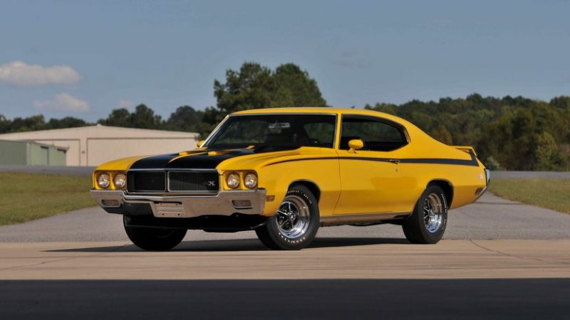 Unusual Muscle Cars - 1970-1972 Buick GSX Stage 1