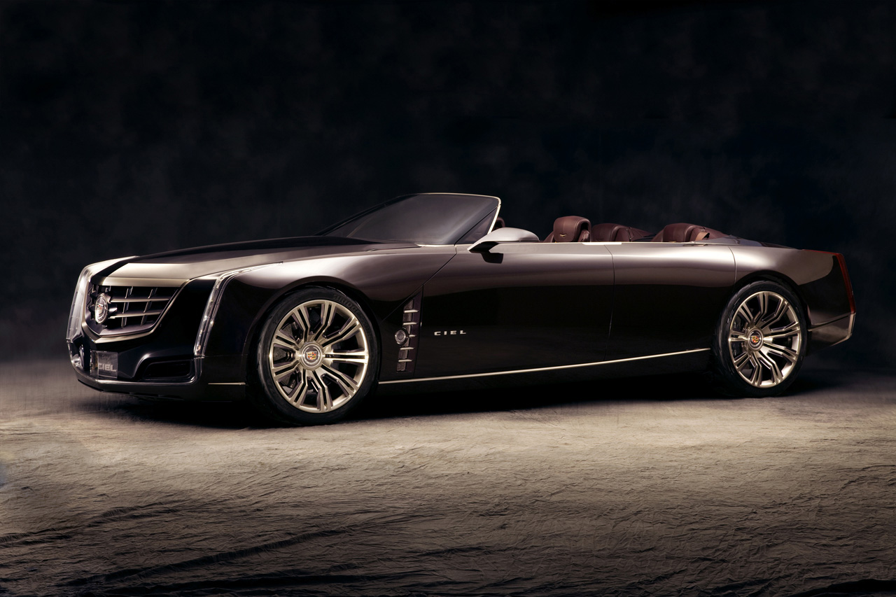 The Cadillac Ciel concept car would be a great Cadillac convertible.