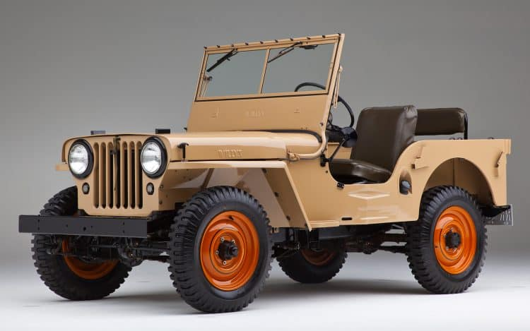 Seminal American Cars - Willys-Overland CJ-2A