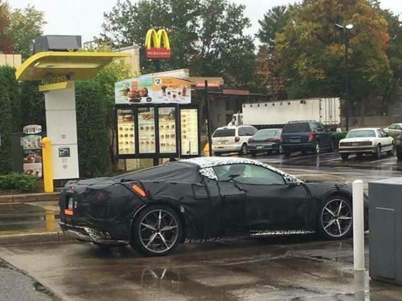 mid engined Corvette C8