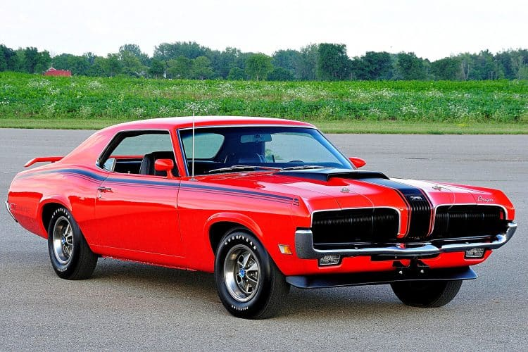 Unusual Muscle Cars - 1969-1970 Mercury Cougar Eliminator