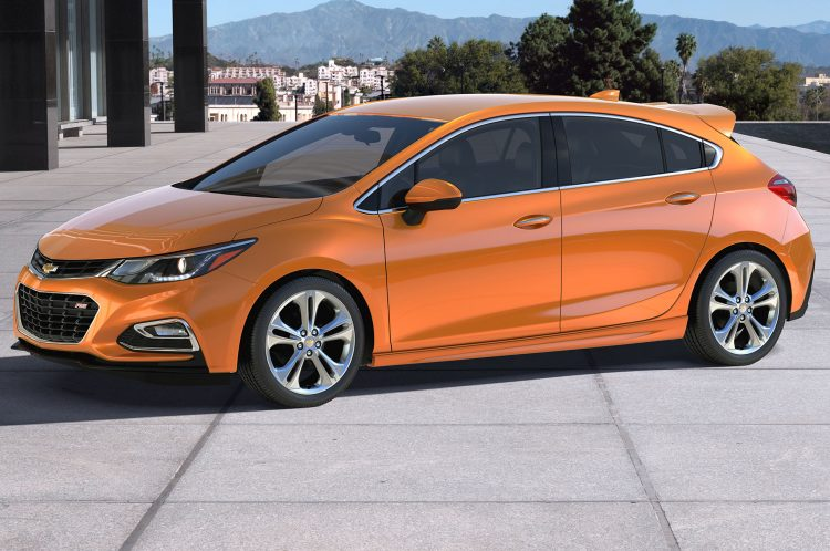Compact Cars 2018 - Chevrolet Cruze Front 3/4