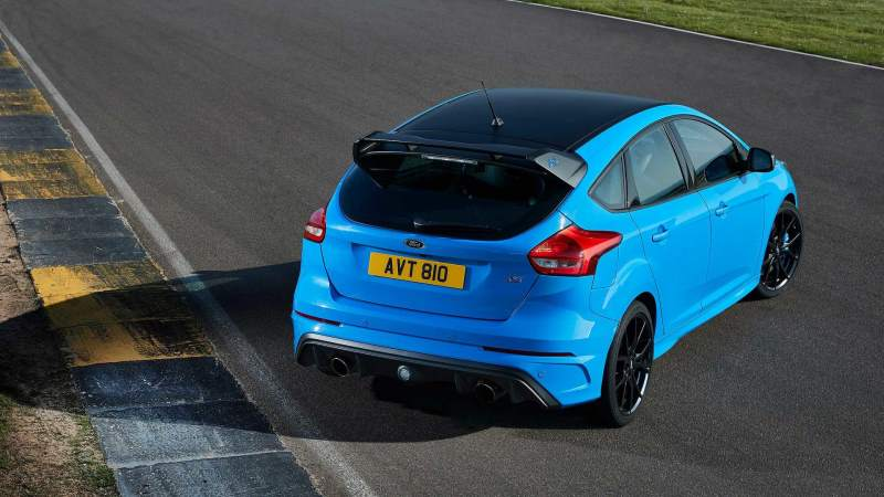 Ford Focus RS Rear 3/4