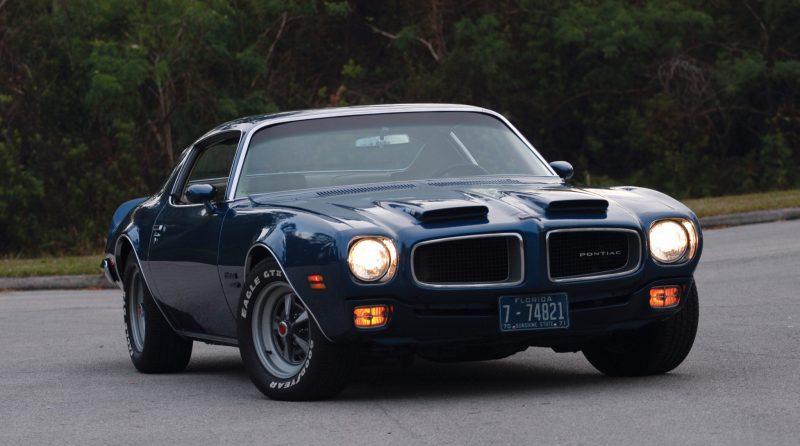 Unusual Muscle Cars - 1970-1971 Pontiac Firebird Formula 400