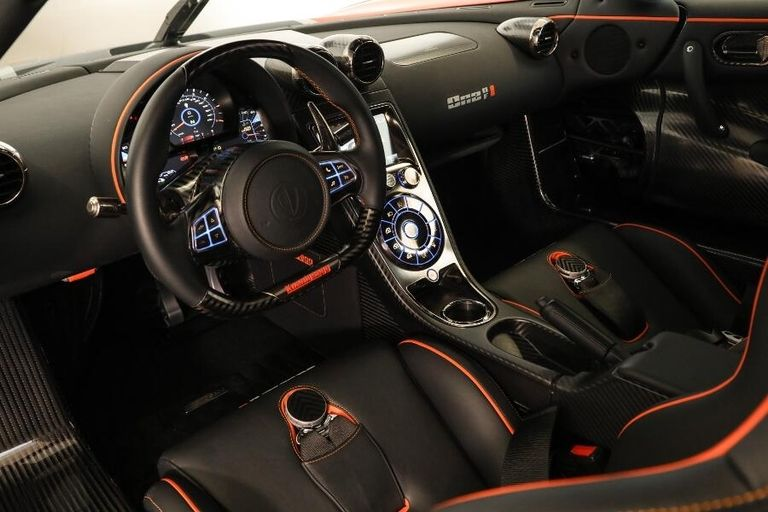 Agera RS One of 1 Interior