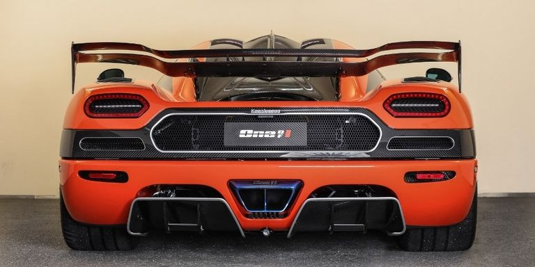 Agera RS One of 1 Rear