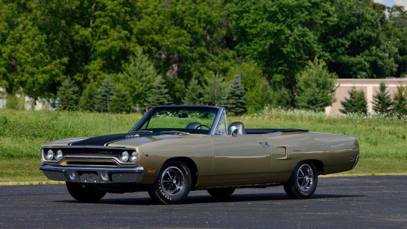 Unusual Muscle Cars - 1969-1970 Plymouth Roadrunner Convertible